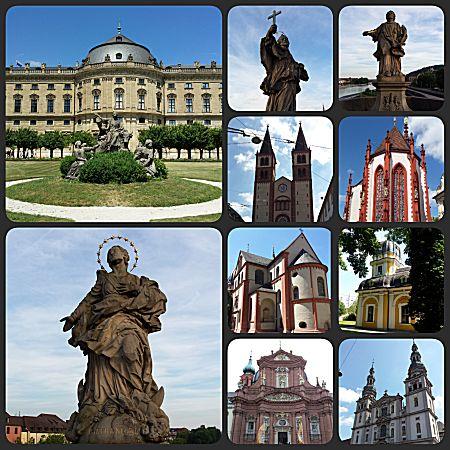 Veel te zien in Würzburg