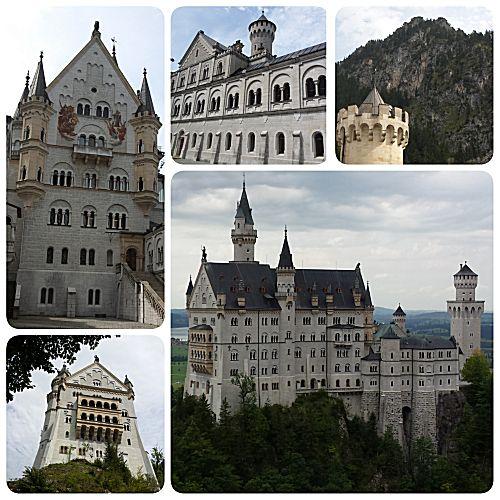 Het sprookjeskasteel Neuschwanstein