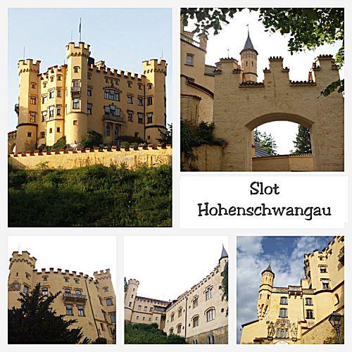 Het kasteel Hohenschwangau
