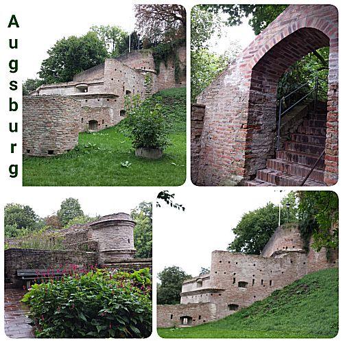 Augsberg oude muur
