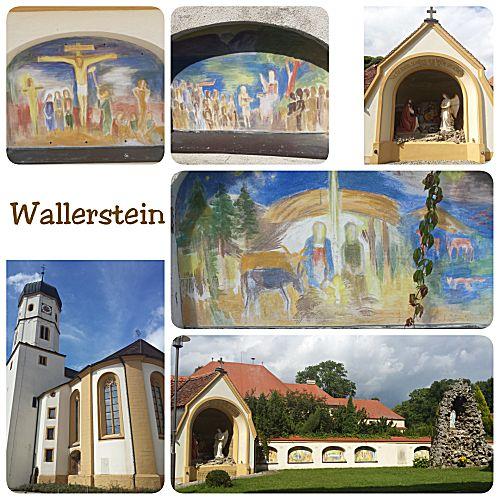Het kerkje in Wallerstein