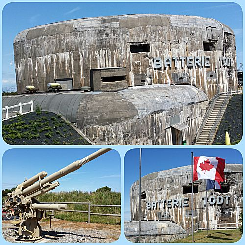 Oorlogsmuseum waar we niet in mochten