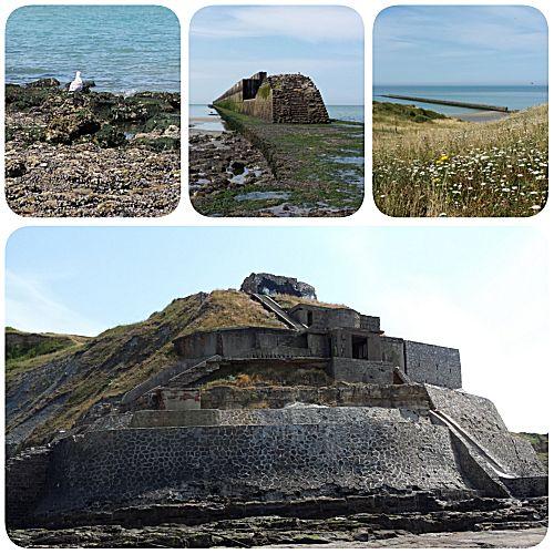 Fort aan het strand