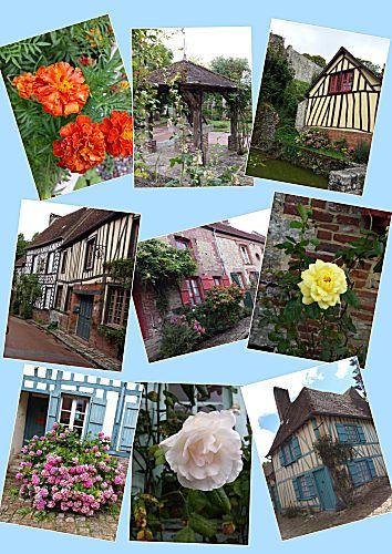 Het bloemendorp Gerberoy