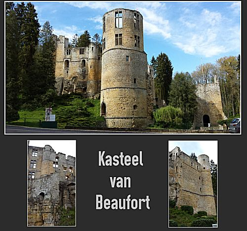 kasteelruine Beaufort