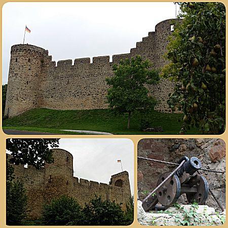 Oude stadsmuur in Hillesheim