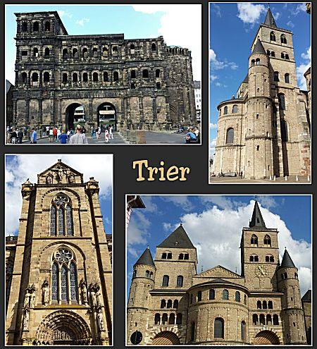 Verschillende gebouwen in Trier