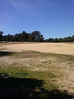 veel zand was er ook te vinden