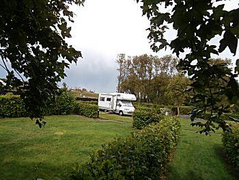 Mooi plaatsje op de camping