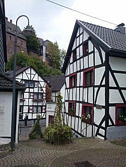 Het stadje heimbach