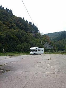 De camperplaats