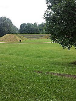 Bij Leuven in park