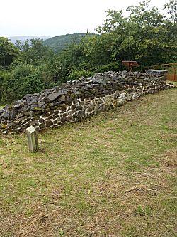 Oude muurtje