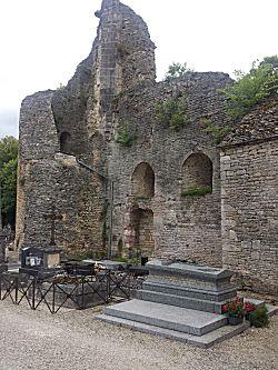 Deel van de ruine