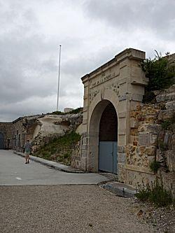 Het fort aanzicht