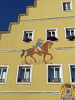 Schildering op de muur