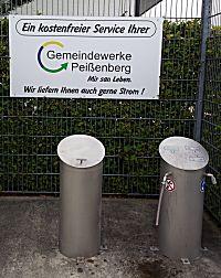 Serviceplaats in Peissenberg