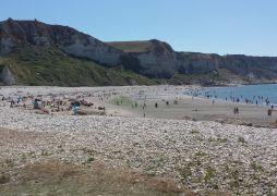 Het bijgelegen strand