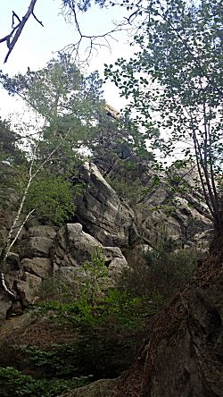 en veel rotsen
