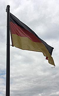vlag op kasteel