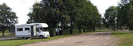 camperplaats in Rohren