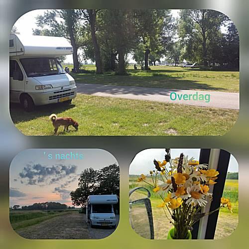 Dorregeest en Alkmaar parkeerplaats