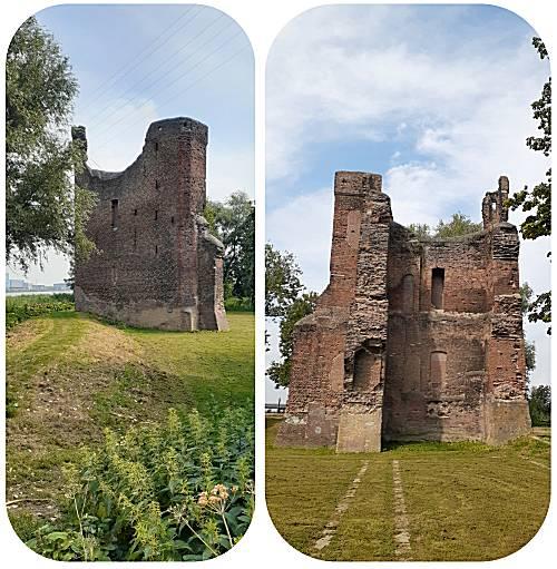 kasteel ruïne Merwede