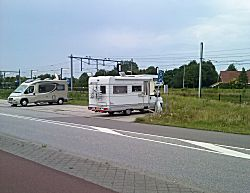 Camperplaats in Middelburg