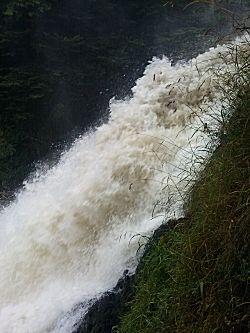 En nog een foto van de waterval