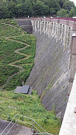 De dam aan de diepe kant