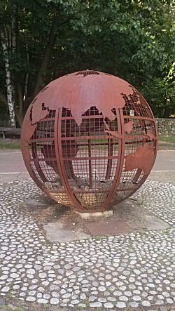 Kattevennen wereldbol