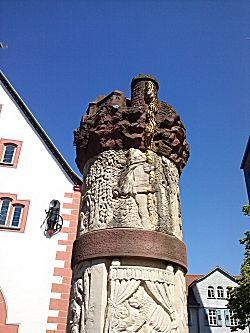 de fontein bovenkant