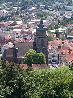 Het uitzicht vanaf de toren
