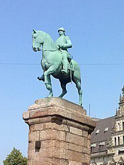 Keizer op het paard