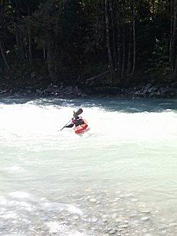 Met kano op de rivier