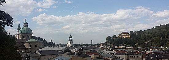 Overzicht van Salzburg