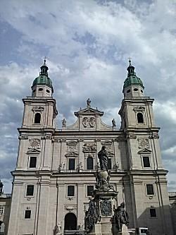 Mooie kerk in Salzburg
