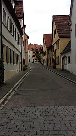 Lege oude straatjes