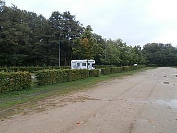 De camperplaats Schloss Wickrath