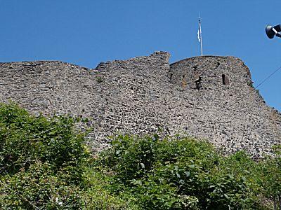 Het kasteel in Homberg