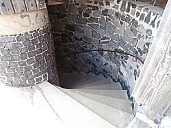 Het trapwerk in de toren