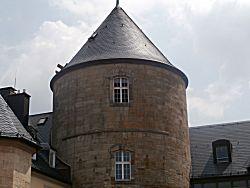 Een kasteeltoren
