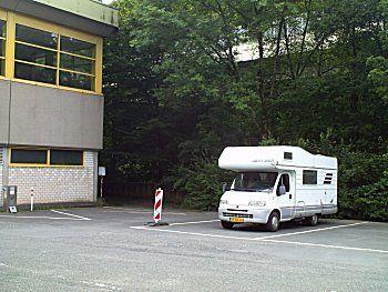 Minder gezellige camperplek in Siegen