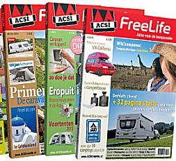 Het ACSI Freelife magazine
