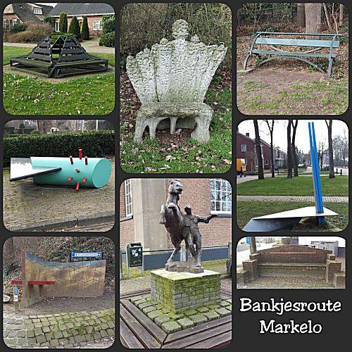 De eerste 8 banken in Markelo