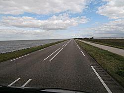 Uitzicht op het IJsselmeer
