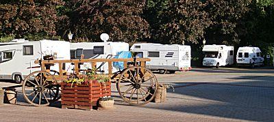 Camperplaats bij Sittensen