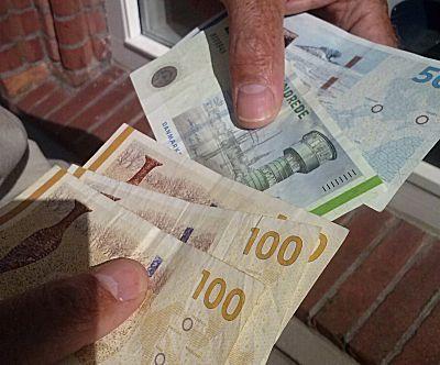 Het eerste Deense geld in ons bezit