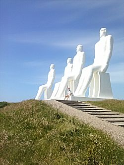 De vier grote mannen en de kleine