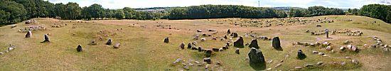 De grote begraafplaats voor Vikingen